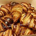 Les croissants et pains au chocolat (cap pâtissier)