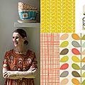 Orla kiely: nouvelle designer de papier peint chez entre cha et ra