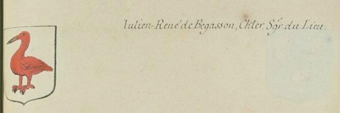 Blason de Begasson Julien René Page 697