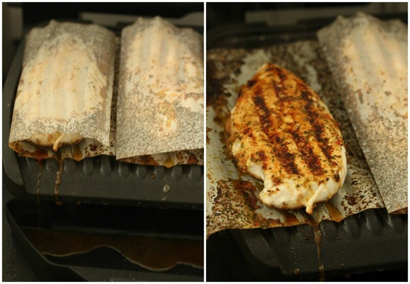 papillotes special poele au grill optigrill