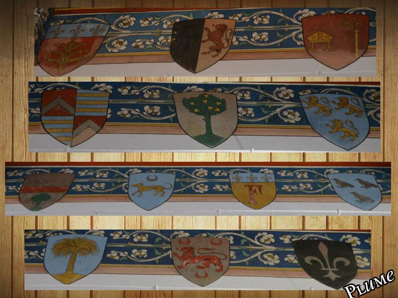 4 armoiries