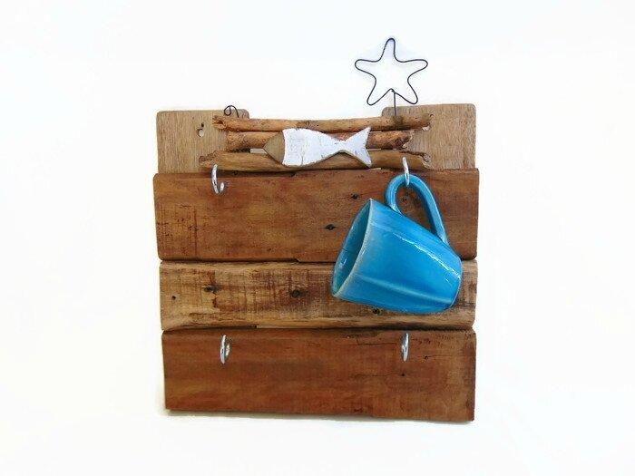 Range tasses en bois