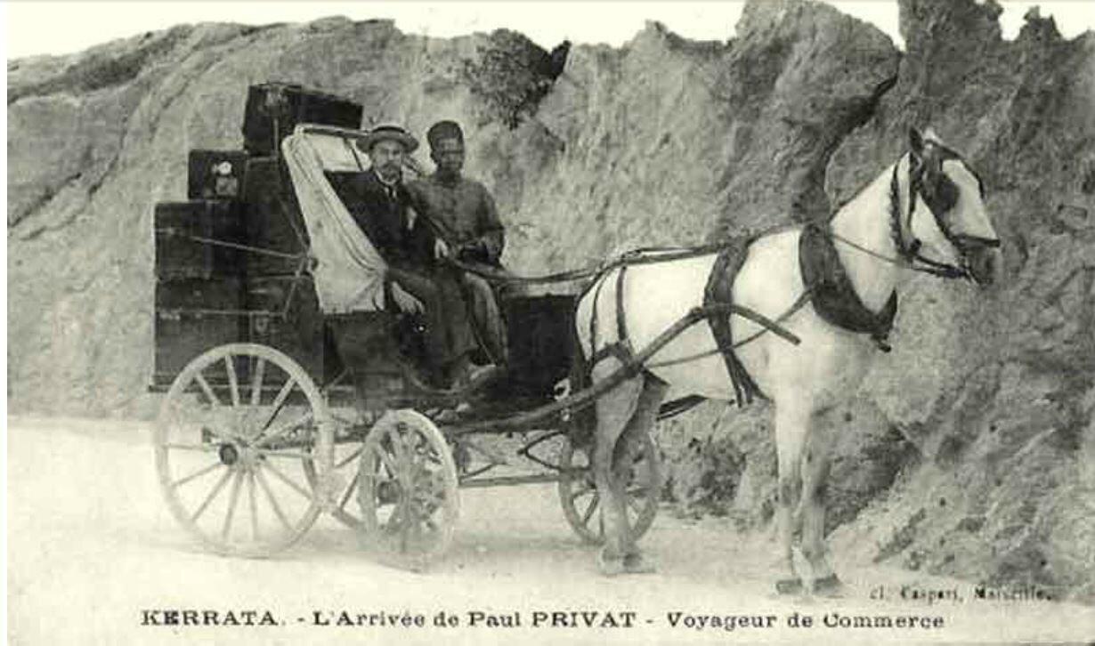 Kerrata-Voyageur de commerce