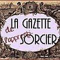 La gazette de l'apprenti-sorcier : joyeux halloween ! edit !