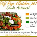 Défi Page Octobre 2013
