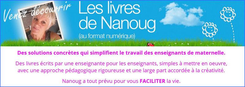 Bandeau LIVRES DE NANOUG