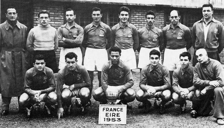 1953 Equipe France Irlande Nord 4 oct R