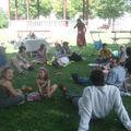 Déjeuner sur l'herbe...pixellisé!