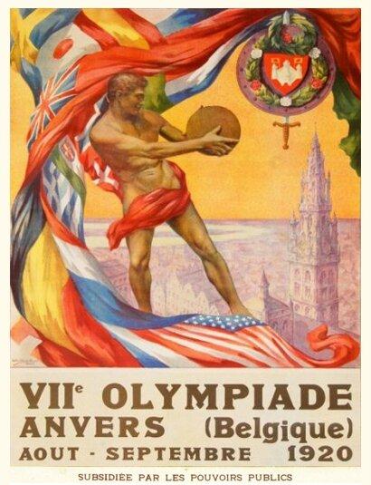 Affiche JO 1920 Anvers