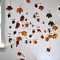13 diy déco d'automne : que faire avec des feuilles mortes ?