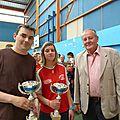 Finalistes de la consolante récompensés par l'A C E F