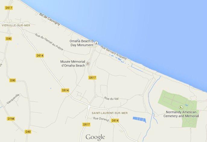 Omaha Beach Cimetière Américain American cemetery Saint Laurent sur Mer DDay