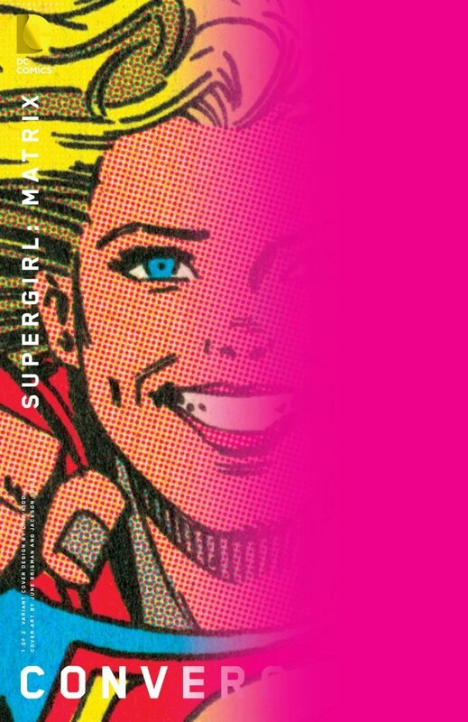 convergence supergirl matrix 1 chip kidd variant