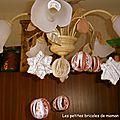Noël 2012, table de noël