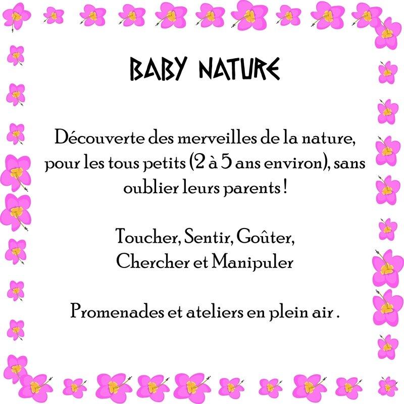 baby nature