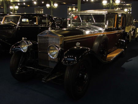 ROLLS ROYCE Phantom II Limousine 1930 Musée National de l'Automobile de Mulhouse, collection Schlumpf 2