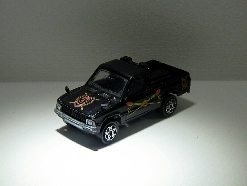 Toyota pick-up (Majorette)