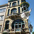 Mon top 10 architecture art nouveau: n°9: l'immeuble les cinq continents (anvers, belgique)
