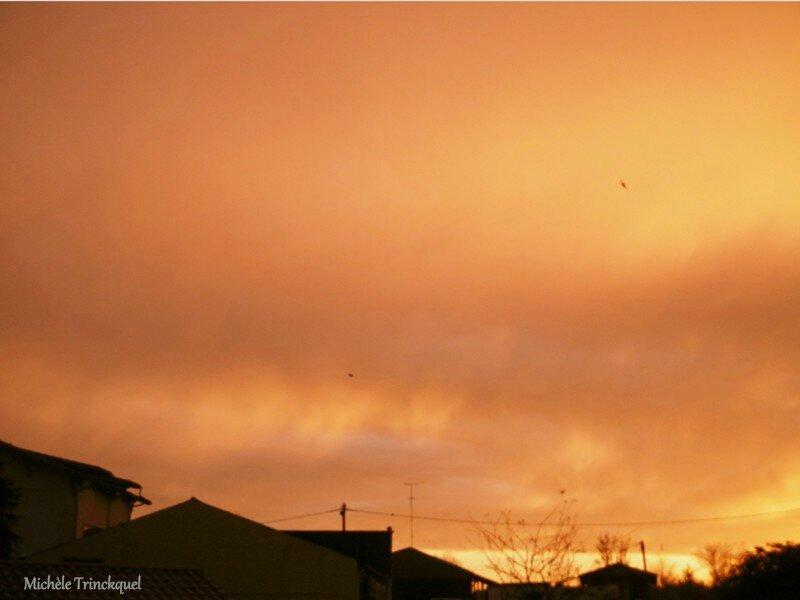 1-Lever de soleil et Arc en ciel 211216