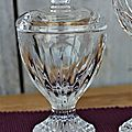 Rare moutardier baccarat
