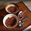 Mousse de lait façon cappuccino (au babycook)