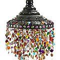 Les magnifiques décoration en perles sont un art original !