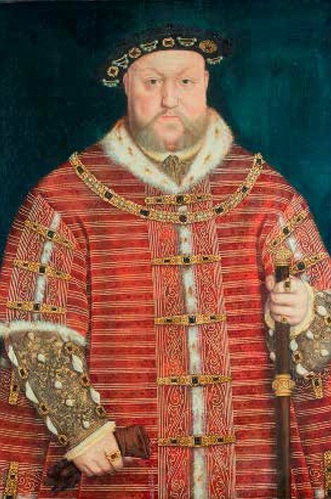 Circle Of - Studio Of Hans Holbein The Younger (1725 – 1815), Portrait of Henry VIII