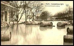 Inondation 1910 entrepots
