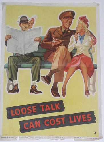 Loose talk...