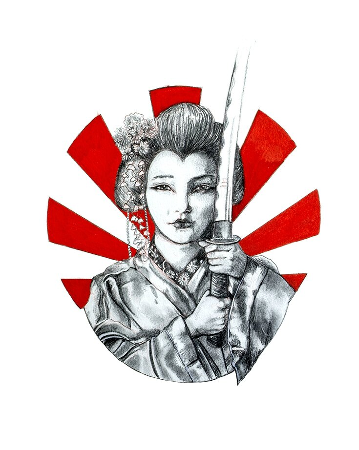 Geisha Au Katana Sicker Than Water Le Blog