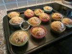 cupcakes à la poudre d'amande et aux fruits confits 008