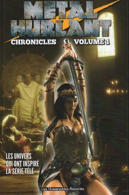 humano metal hurlant chronicles 01