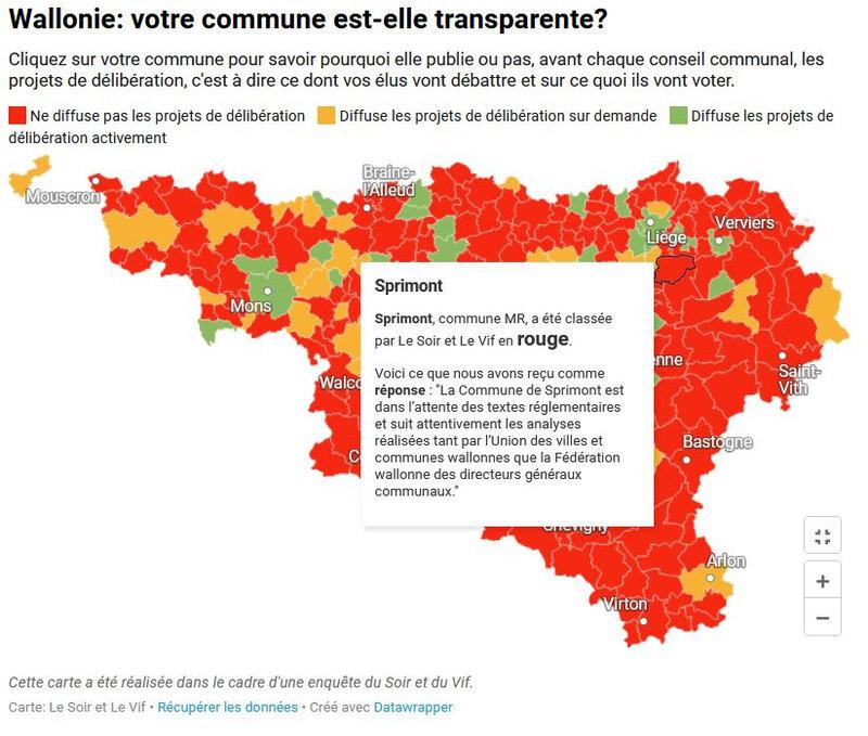 Communes transparentes - Sprimont - 21-10-21