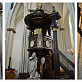 Bruges Cathedrale St Sauveur interieur