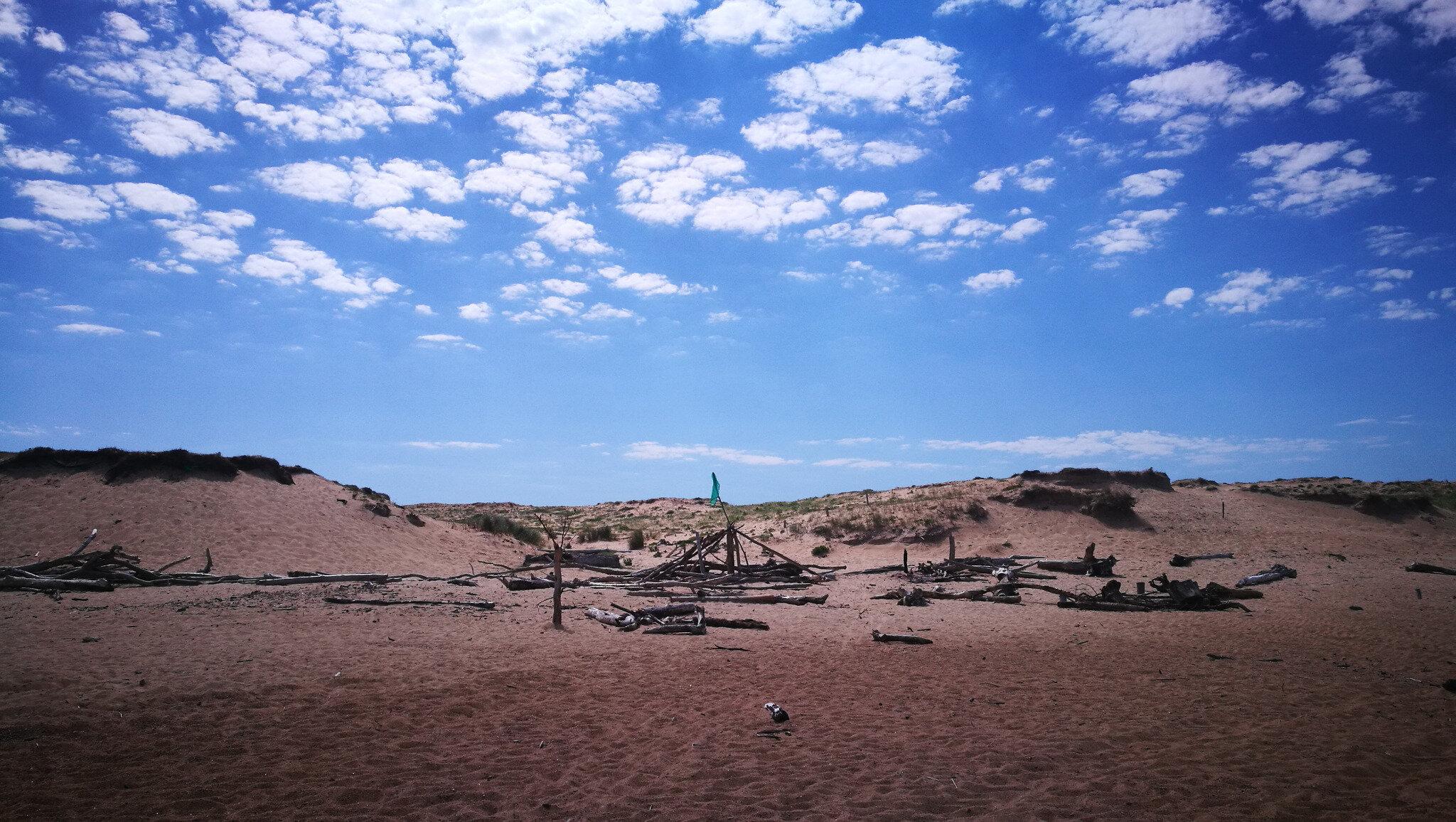 Ondres, plage en juin, camping flotté (40)