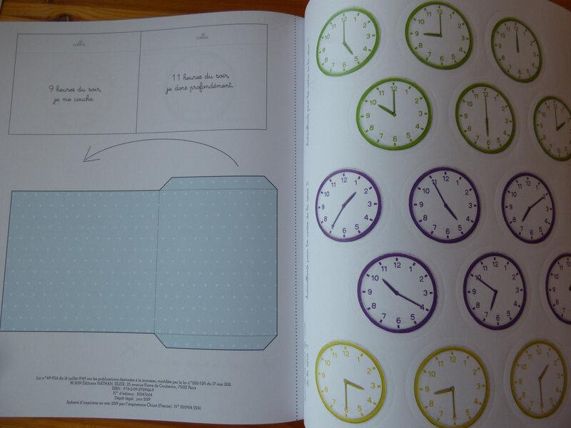 J'apprends à lire l'heure (3)