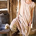 MP lace patchwork dress antique white and liberty pants squared prink dress.02.jpg