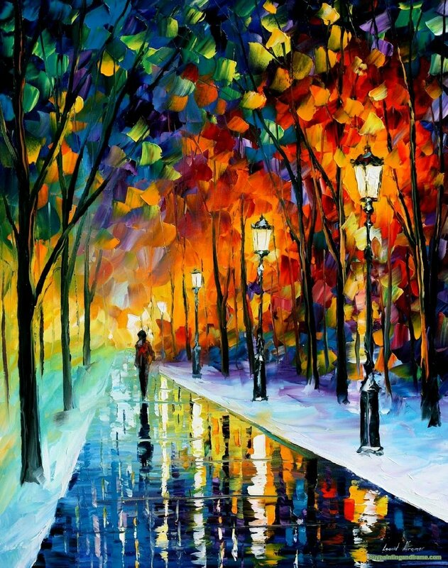 ICEY PATH By Leonid Afremov
