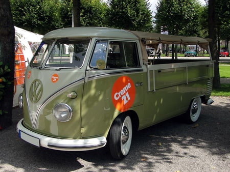 VOLKSWAGEN Combi T2 Pickup Bache 1950 1967 Classic Gala de Schwetzingen 2010 1