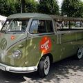 Volkswagen combi t2 pickup bâché 1950 à 1967