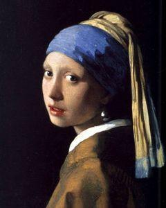 jeune fille à la perle vermeer