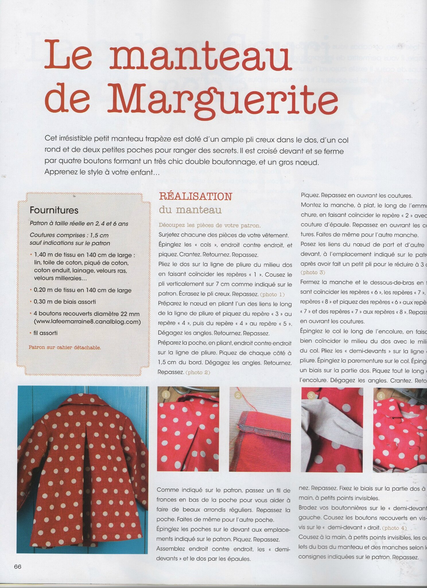 Passion Couture Créative n°4 (5)- Avril mai juin 2014 - page 66