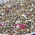 Salade de lentilles à la menthe