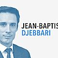 Dimanche en politique sur france 3 n°124 : jean-baptiste djebbari