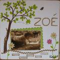 ZOE à l'ombre d'un arbre...