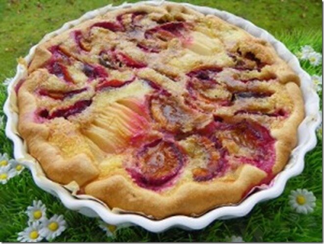 Tarte de poire et quetsches par httpthermominoux.over-blog.com