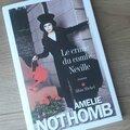 «le crime du comte neville » d'amélie nothomb