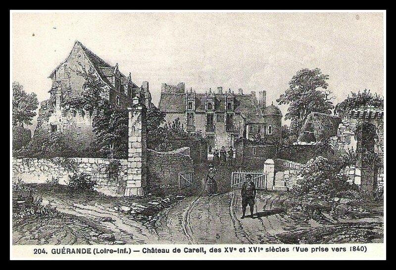 Guérande château de Careil