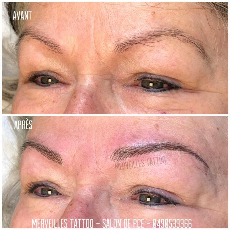 tatouage sourcils, poil à poil, micro blading, maquillage permanent