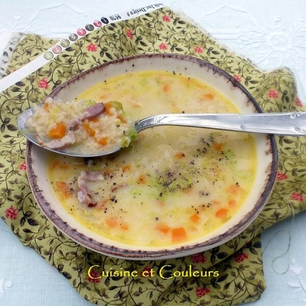 soupe Griess